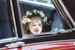 Princess Charlotte, the flower girl