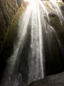 Gljufrafoss Waterfall in Iceland